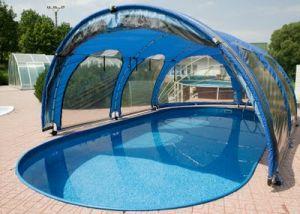 les abris de piscine s curiser une piscine. Black Bedroom Furniture Sets. Home Design Ideas